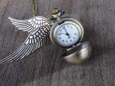 OMG a snitch watch! want ❤