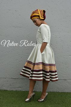 Ideas for modern african fashion 465 African Dresses For Women, African Print Dresses, African Print Fashion, African Fashion Dresses, African Women, African Clothes, Africa Fashion, African Beauty, Xhosa Attire