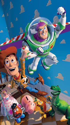 30 Ideas for wallpaper phone disney toy story movies Toy Story 3, Toy Story 1995, Toy Story Party, Toy Story Buzz, Disney Pixar, Disney Cartoons, Disney Art, Disney Movies, Disney Ideas