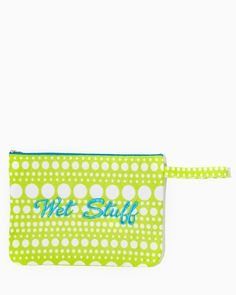 charming charlie | Wet Stuff Bikini Bag | UPC: 410006345911 #charmingcharlie
