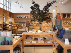 The original Heath Ceramics is in Sausalito is incredible, but if you can't make the trip check out the small studio at the Ferry Building.
