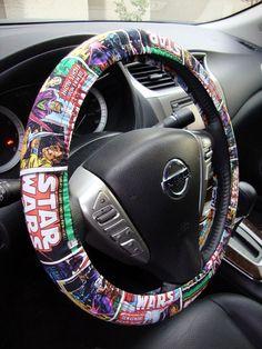 Handmade Steering Wheel Cover Star Wars Vintage Comic on Etsy, $15.98