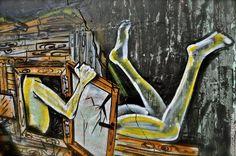 #dede #dedebandaid  By #sandraGold - #UrbanExistenz #artwork  #graffiti #graffiti_tel_aviv #streetart #wallpainting #telaviv #tel_aviv by graffiti_tel_aviv