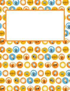 Free printable August binder cover template. Download the cover in JPG or PDF format at http://bindercovers.net/download/august-binder-cover/