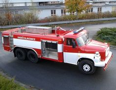 Fire Apparatus, Fire Trucks, Engineering, Country, Vehicles, Firefighters, Fire Department, Rural Area, Firetruck