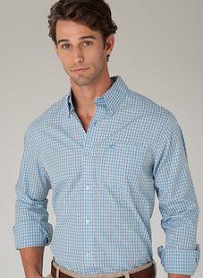 the southern tide men's plantation shirt
