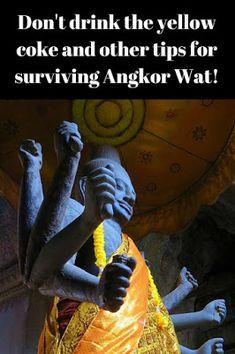 Angkor Wat - tips for visiting the Angkor Temples. #tbin #angkorwat #angkortemples #cambodia #siemreap
