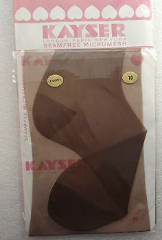 One pair of Kayser stockings still in their original packet Made in England by Kayser Bondor probably early 1960s the original price was 3 11