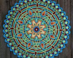 Ganchillo superposición Mandala Nº 6 patrón PDF por CAROcreated