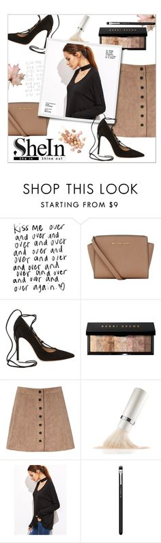 """Untitled #651"" by valenouladls ❤ liked on Polyvore featuring MICHAEL Michael Kors, Gianvito Rossi, Bobbi Brown Cosmetics, Glamorous, La Mer, MAC Cosmetics and Too Faced Cosmetics"