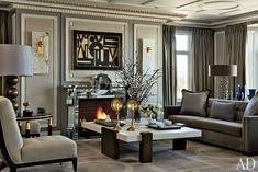 Discover the work of Jean-Louis Deniot, featured on the 2014 AD100 list of the world's best interior designers and architects