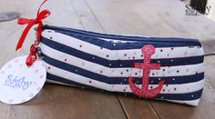 Navy pouch.