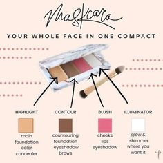 Declutter your makeup collection and simplify your life Glow Foundation, Foundation Colors, Maskcara Makeup, Maskcara Beauty, Eyeshadow For Blue Eyes, Blush On Cheeks, Makeup For Moms, Flawless Face