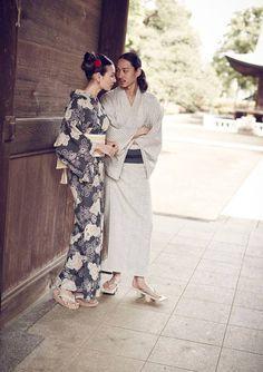 of Kimono and Hanbok Japanese Yukata, Japanese Costume, Japanese Outfits, Japanese Fashion, Male Kimono, Yukata Kimono, Oriental Fashion, Asian Fashion, India Fashion