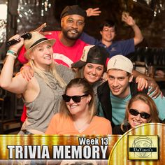 Midtown's week 13's 1st Place winners.  Join us Monday's 8pm. Sign up http://davincisdelivers.com/trivia-signup/