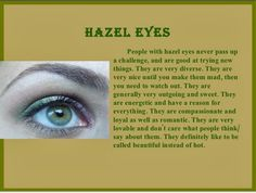 Hazel Eyes Quotes Sayings. QuotesGram by @quotesgram