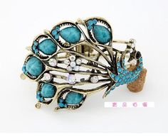 Cuff Bracelet with Peacock, Ideal for Weddings, Party, Pageants, Proms, Christmas Gift by praise and grace gift shop, http://www.amazon.com/dp/B0095D7PFQ/ref=cm_sw_r_pi_dp_RD2-qb0DF627T