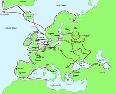 The Route is managed by the Destination Viking Association, made up of members from 10 countries with significant Viking heritage. Description from coe.int. I searched for this on bing.com/images