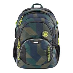 """00183619 coocazoo Rucksack """"JobJobber2"""", Polygon Bricks 