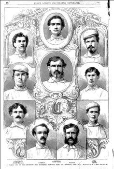 Image detail for -1869 Red Stockings of Cincinnati   Baseball History Blog