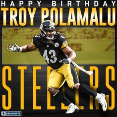 Wishing an awesome 35th birthday to The Pittsburgh Steelers' lifer. 4/19/2016