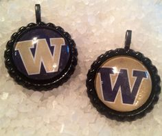 University of Washington Huskies Bottlecap necklace