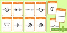 Parts of a Plant Labelling and Reference Sheets Electric Circuit, Plant Labels, Images And Words, Parts Of A Plant, Symbols, Science, Learning, Studying, Teaching