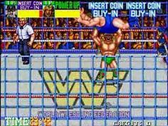 This is PART 1 OF 3 of a video I made of myself completing WWF Wrestlefest twice consecutive wins) on the default arcade difficulty, using only one credi. Childhood Games, Game Background, Wwe Superstars, Arcade Games, Old School, Nostalgia, Gaming, Wrestling, Good Things