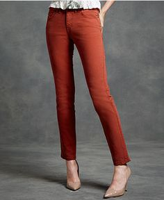 "Levi's Skinny ""Paprika""-Colored Jeans"