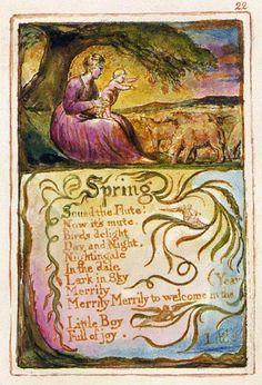 William Blake- Spring