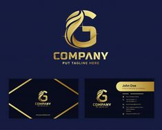 G Logo Design, Modern Logo Design, Logo Design Template, Logo Templates, Leaf Template, Initials Logo, Monogram Logo, Web Banner, Identity