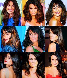 Lea Michele ☀ Hair