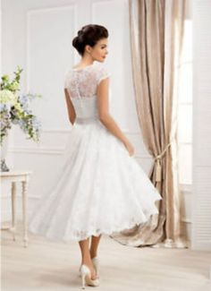 Nice Great 2017 NEW Short White/Ivory Lace Wedding Dress Bridal Gown Custom Size 4-26++ 2017-2018 Check more at http://24myshop.ga/fashion/great-2017-new-short-whiteivory-lace-wedding-dress-bridal-gown-custom-size-4-26-2017-2018/