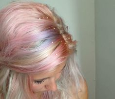 xoVain | How To Give Yourself Magical Multicolored Pastel Hair