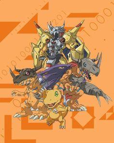 Agumon Greymon MetalGreymon Wargreymon for Tai (Taichi) Agumon Greymon MetalGreymon Wargreymon for Tai (Taichi) Pokemon Vs Digimon, Digimon Tattoo, Digimon Wallpaper, Digimon Adventure 02, Anime High School, Digimon Tamers, Digimon Frontier, Digimon Digital Monsters, Otaku