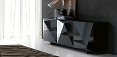 Buy the Kayak Sideboard by Cattelan Italia from our designer Storage collection at Chaplins - Showcasing the very best in modern design. Contemporary Furniture, Contemporary Design, Sideboard Buffet, Italian Furniture, Cabinet Design, Glass Shelves, Glass Cabinets, Cupboards, Decoration