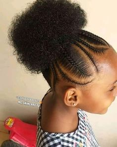 Toddler Braided Hairstyles, Lil Girl Hairstyles, Braids Hairstyles Pictures, Black Kids Hairstyles, Natural Hairstyles For Kids, African Hairstyles For Kids, African American Girl Hairstyles, Daily Hairstyles, Everyday Hairstyles