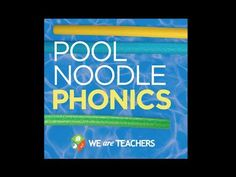 Teach phonics with this dollar store teacher hack that uses pool noodles to create a fun spelling manipulative your students will love. Phonics Reading, Teaching Phonics, Teaching Reading, Teaching Kids, Kindergarten Literacy, Reading Skills, Literacy Centers, Guided Reading, Classroom Activities
