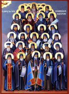 The great teachers of the Church and of the Greek nation, Makarios Notaras, Nikodemos of the Holy Mountain and Athanasios of Paros, . Byzantine Icons, Byzantine Art, Religious Icons, Religious Art, The Holy Mountain, Avatar The Last Airbender Art, Orthodox Christianity, Orthodox Icons, Russian Art