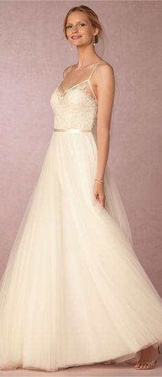 BHLDN Wedding Dresses - Belle The Magazine