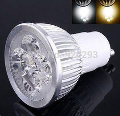 1 개 슈퍼 밝은 9 와트 12 와트 15 와트 LED 전구 빛 110 볼트 220 볼트 밍이 스포트 라이트 따뜻한/쿨 화이트 구 10 LED 통