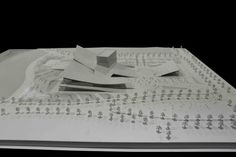 Sejong Art Center Winning Proposal,model 01