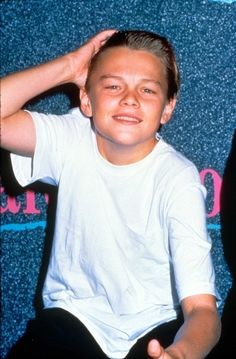 But then he's always lived up to his name, even from an early age. | 18 Times Leonardo DiCaprio Out-Leo DiCaprio'd Himself