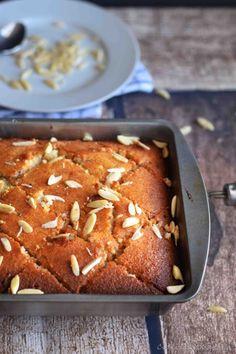 Revani Semolina Cake