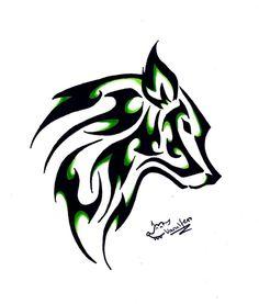 Tribal Wolf Tattoo Designs - Bing images Plus Wolf Tattoos, Tribal Tattoos, Tribal Wolf Tattoo, Star Tattoos, Celtic Tattoos, Sleeve Tattoos, Dragon Tattoos, Celtic Wolf Tattoo, Tatoos