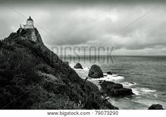 79073290 Illustration, Lighthouse, Photographers, Monochrome, Light Fixtures, Pictures, Illustrations