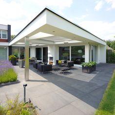 Outdoor Areas, Indoor Outdoor, Outdoor Structures, Outdoor Decor, Pergola Carport, Garden Projects, Exterior Design, Architecture Design, House Plans