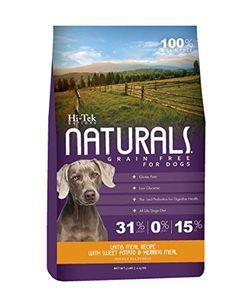 Hi-Tek Naturals Grain Free Lamb Meal and Sweet Potato Formula Dry Dog Food, 5 Pounds by Hi-Tek Naturals