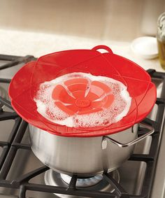 I need something like this. My water always boils over when I am cooking noodles!