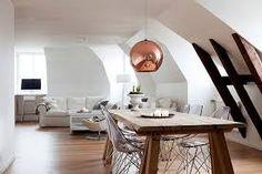 Diseño de Tom Dixon copper lamps